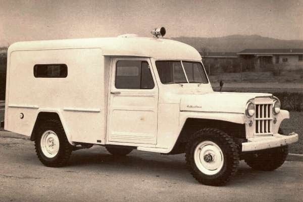 Willys 4WD ambulance