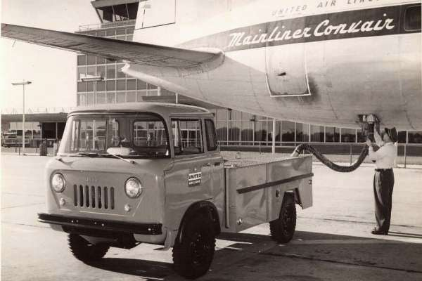 Willys Jeep FC airline sanitation truck