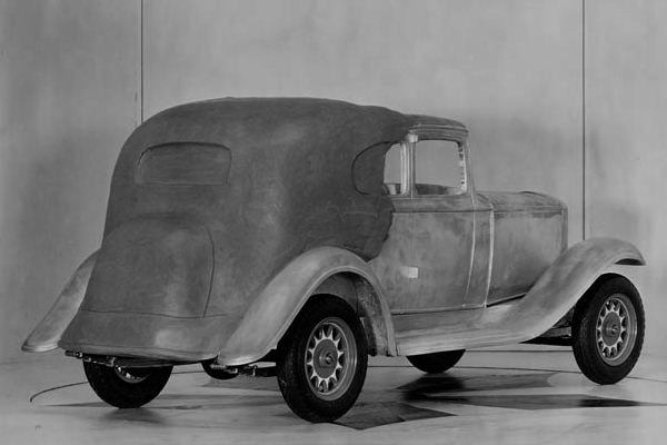 1932 Hudson clay model proposal
