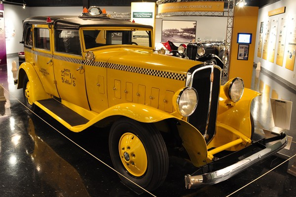 1933 Checker Model T Taxicab