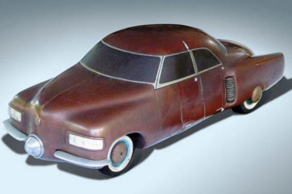 1940s Studebaker scale model