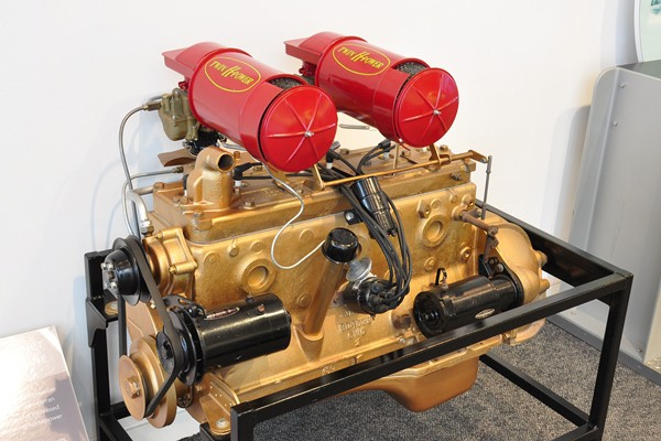 1953 Hudson Twin H 308 CID engine