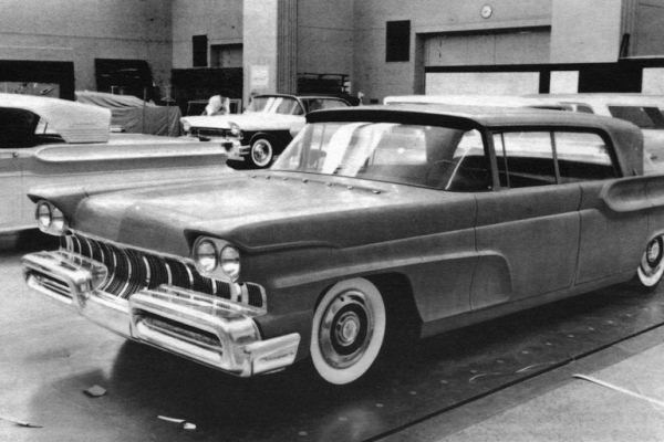 1957-58 Lincoln-Mercury clay proposal