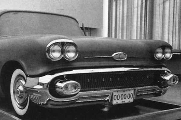 1958 Oldsmobile clay model prototype
