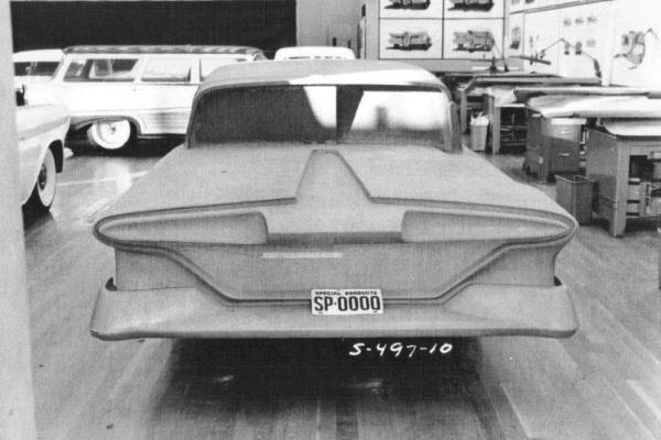 1959 Edsel clay proposal rear