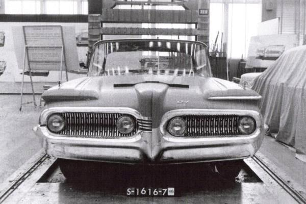 1960 Edsel clay proposal