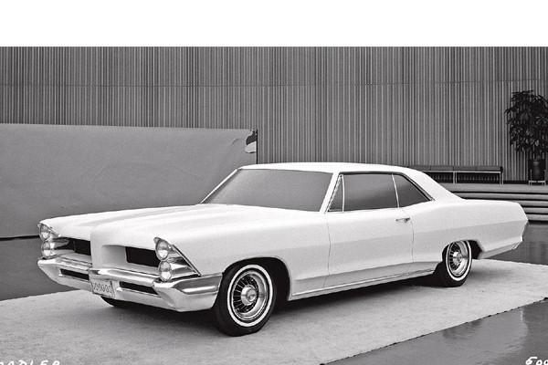 1965 Pontiac clay proposal 1963
