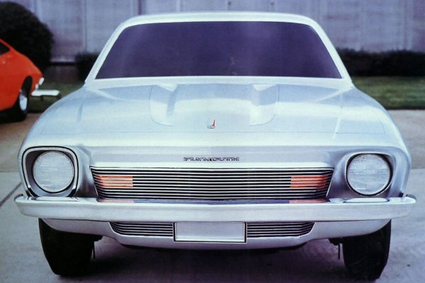1970 Plymouth Valiant Styling Proposal