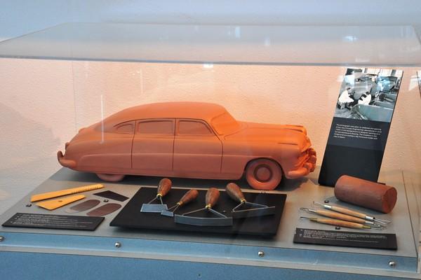 Hudson clay model