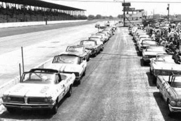 Darlington 1962 the Last Convertible Race