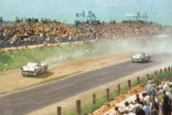 Daytona beach race 1956