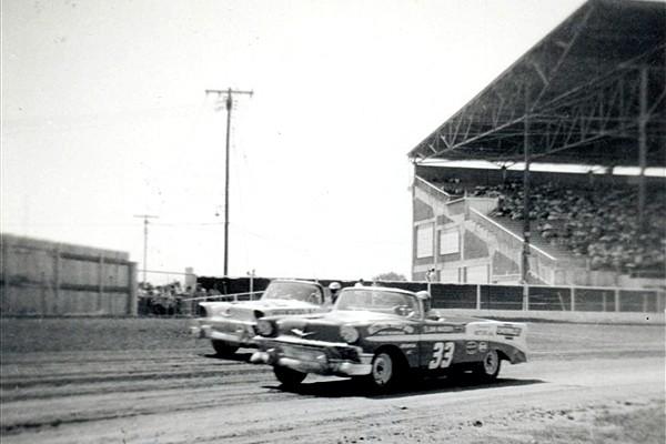 Jim Massey 33 1956 Chevrolet Kansas Fairgrounds