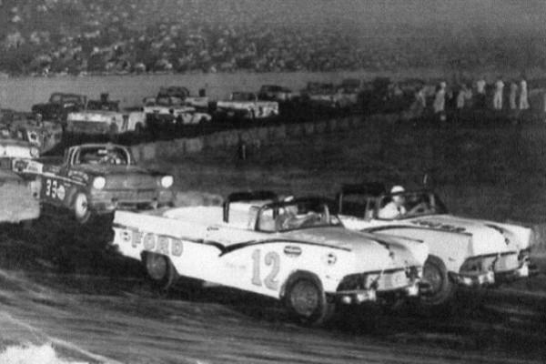 Joe Weatherly 12 1956 Ford Soldier Field