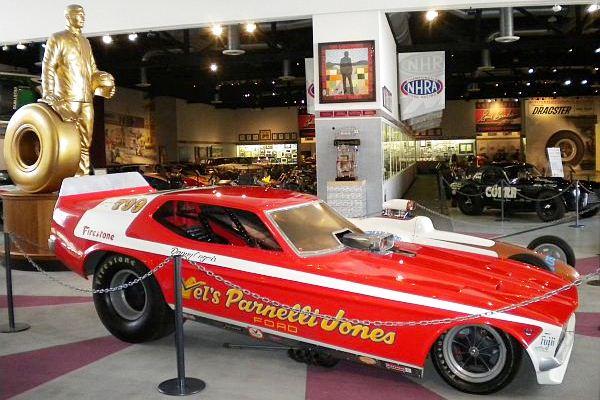 Vel's Parnelli Jones Danny Ongais Mustang funny car