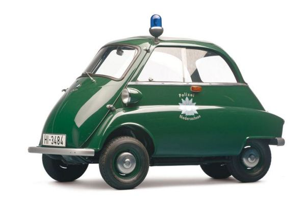 1961 BMW Isetta 300 Police Car Lot 553 $86,250