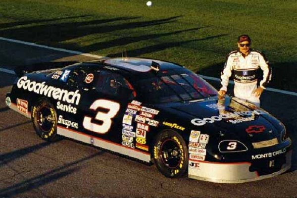 3 Dale Earnhardt Goodwrench Monete Carlo hero shot