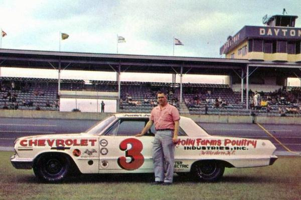 3 Junior Johnson 1963 Chevrolet Firecracker 400