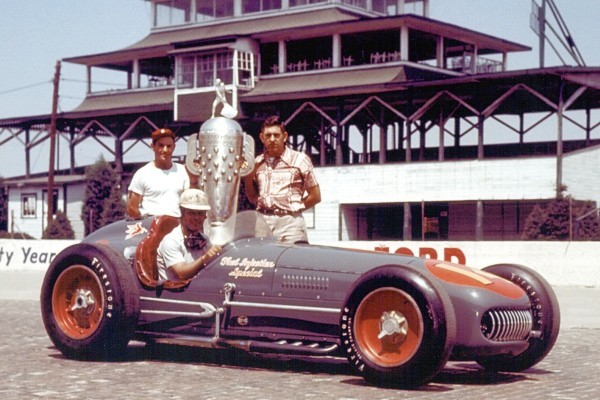 1953 Kurtis KK500A Bill Vukovich  Fuel Injection Special '53 Indy winner