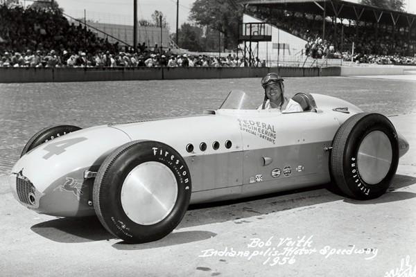 1956 Kurtis KK500E Bob Veith Federal Engineering Special