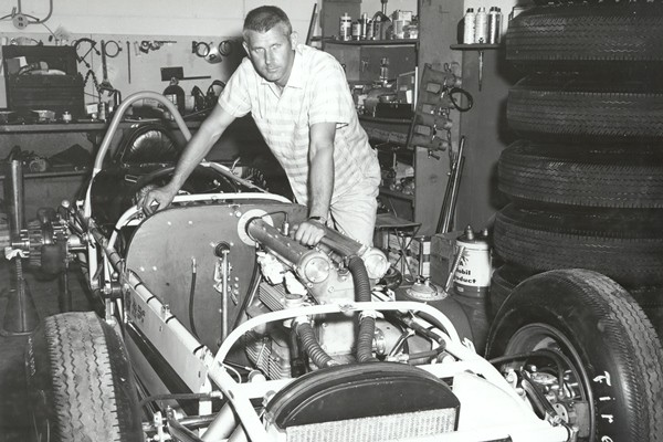 1960 AJ Watson with roadster