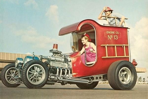 1968 Chuck Miller C-Cab Fire Truck