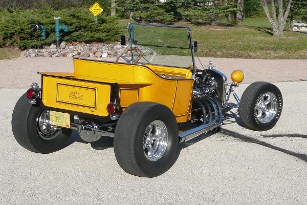 1969 Larry Alexander Model T roadser Top Banana