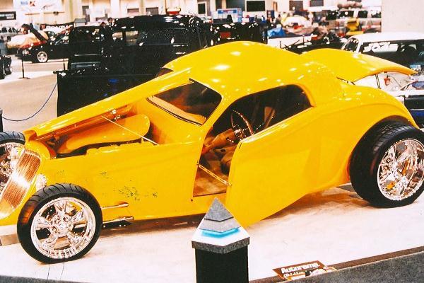 2000 Paul Atikins 1933 Ford Speedster