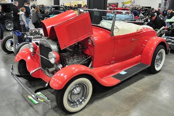 Randy Bianchi 1929 Ford Model A Roadster