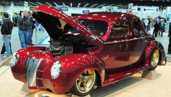 """Checkered Past"""" 1940 Ford wins 2013 Ridler Award 