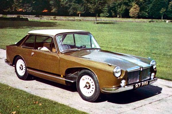 1961 MGA Stephenson Panelcraft concept