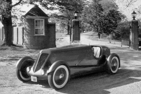 1934 Edsel Speedster at Ford Estate