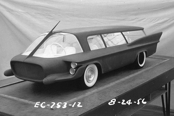 1956 Chrysler van study