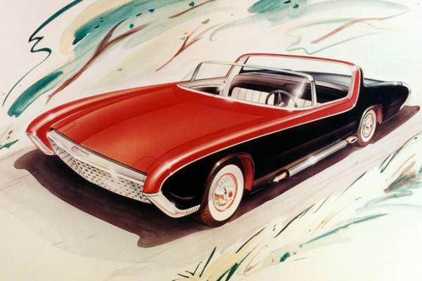 1956 Rambler convertible concept rendering
