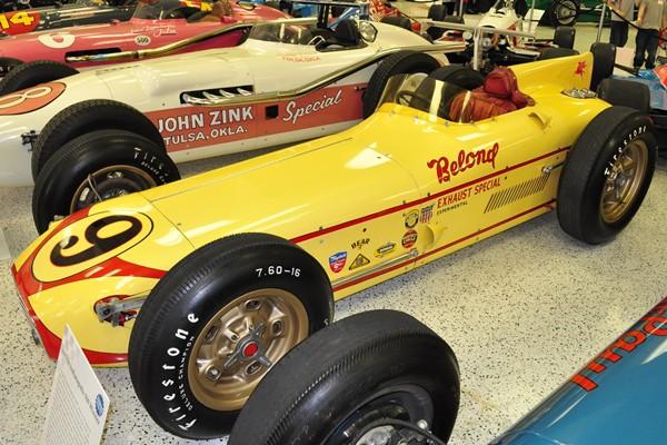 1957 Salih 57-58 Indy 500 winner