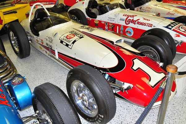 1961 Trevis Indy 600 AJ Foyt