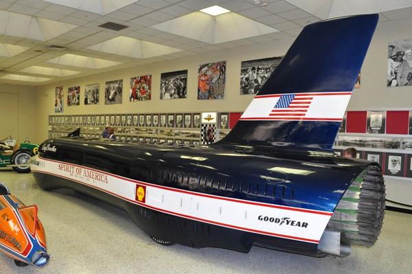 1966 Sonic I LSR racer Craig Breedlove
