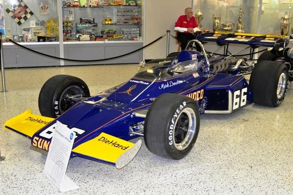 1972 McLaren-Offy Indy 500 winner Mark Donohue