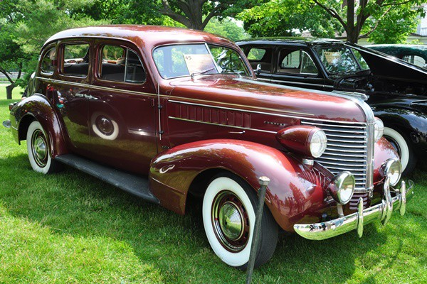 1938 Pontiac Touring Sedan Tom Whitlock