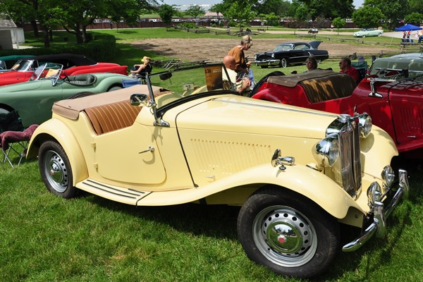 1952 MGTD Roadster Robert Ruzzin