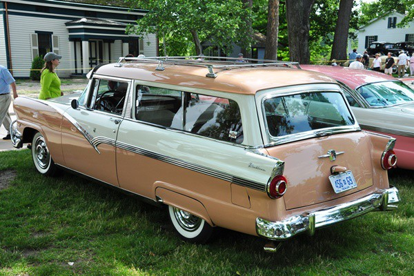 1956 Ford Parklane 2D Station Wagon Richard Deming