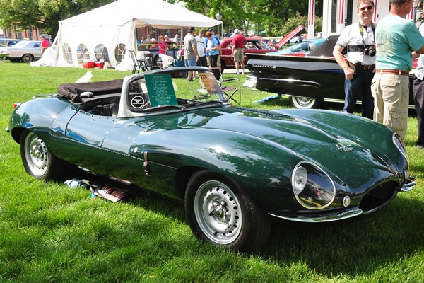 1957 Jaguar XKSS Dick Harms