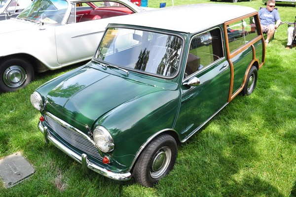 1963 Austin Mini Countryman Scott Meyland