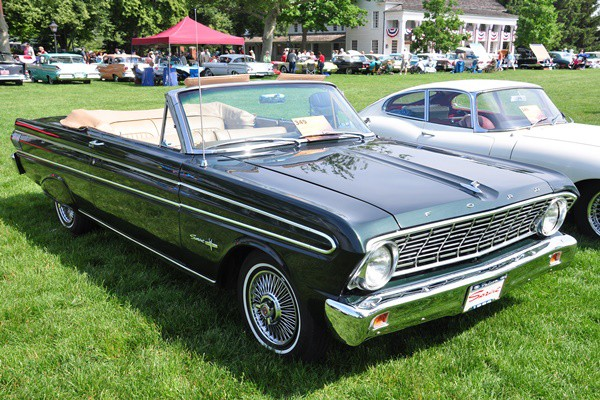 1964 Falcon Sprint convertible Karilyn Price