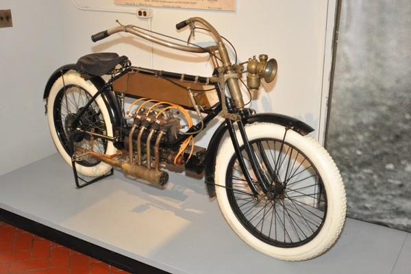 1910 FN motorcycle