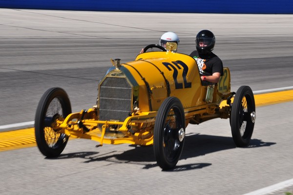 1913 Mercer Ted Davis