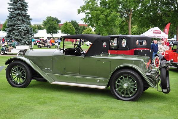 1919 Locomobile Merrimac Roadster Phil and Carol Bray