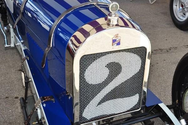 1920 Durant Miller Terry Castle radiator shell