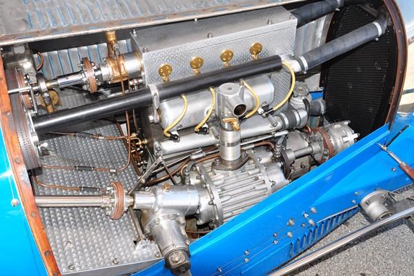 1927 Bugatti 37A engine Dennis Holloway