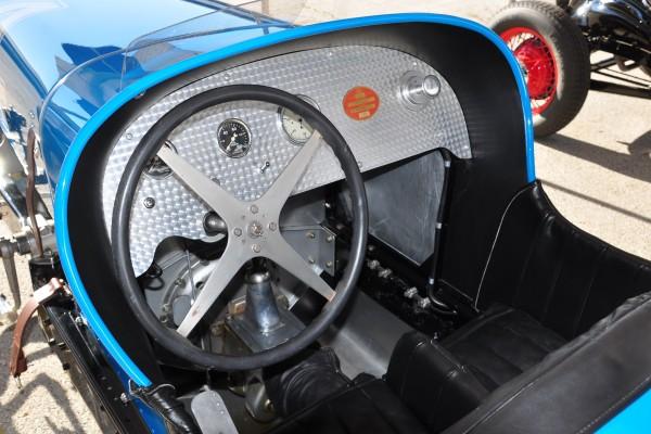 1932 Hupp Comet Greg Orzanian cockpit