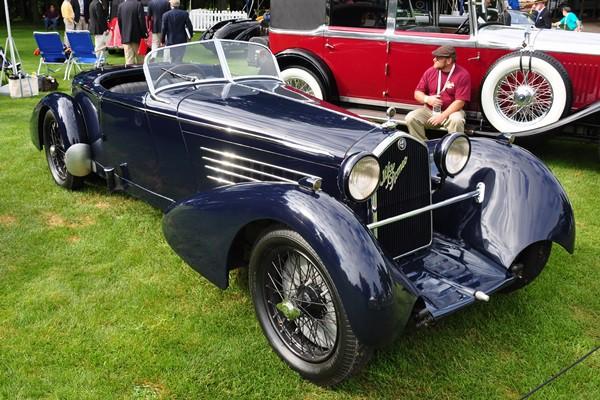 1934 Alfa Romeo 8C 2300 Roger Willbanks